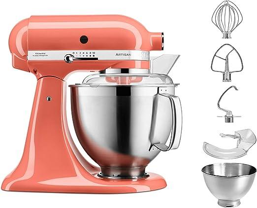 KitchenAid 5 ksm18 5pseph 4,8L Robot de cocina, Coral: Amazon.es: Hogar