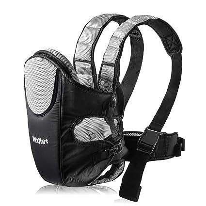 7a73713a10a MixMart Porte-bébé Ventral Érgonomique Tissu Respirant 6 Positions Avant et  Arrière Multifonctionnel avec Lanières Réglables (BB009)  Amazon.fr  Bagages