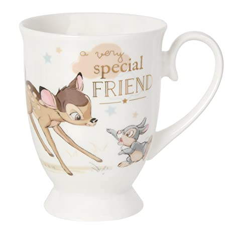 Taza Special Friend con imagen de Bambi de Disney, con caja para regalo