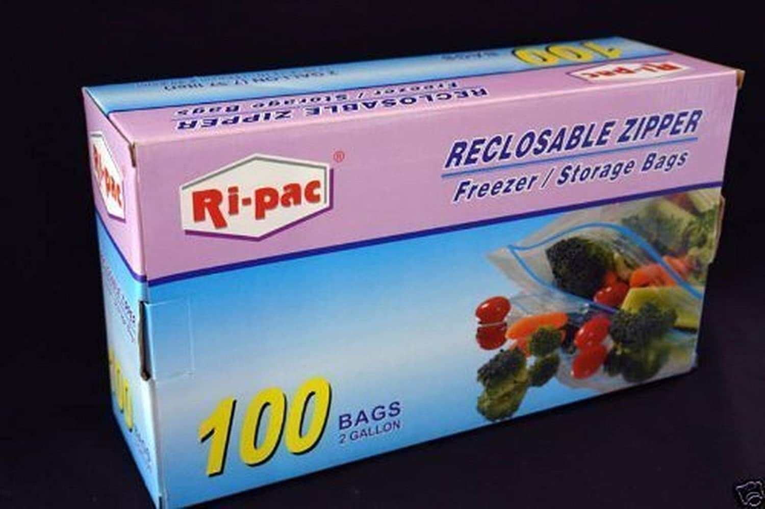 Resealable Plastic Bags, Clear Storage Bag (13 x 16 in., 100 Pack)