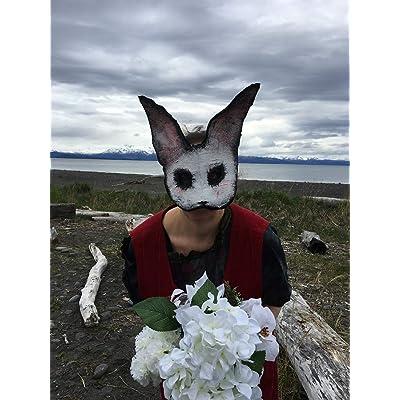 Scary Animal Halloween Masks.Buy Creepy White Rabbit Masquerade Masks Adult Halloween Mask Custom Handmade Horror Props Scary Animal Masks Online In Bahrain B07h9kbjzw