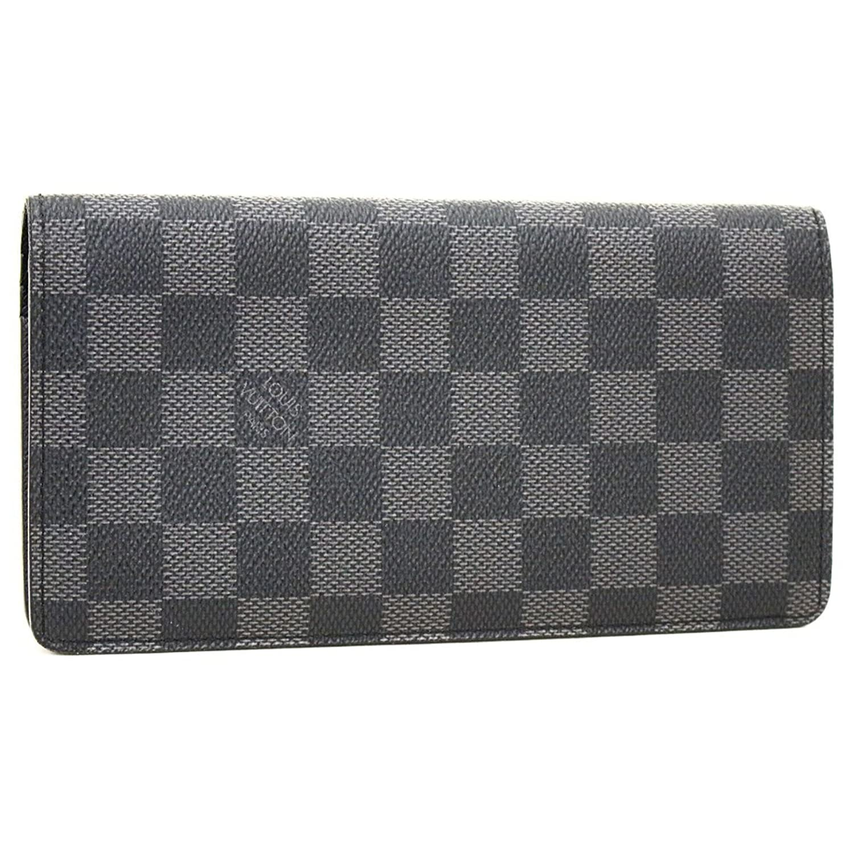 (ルイヴィトン) ダミエ グラフィット ポルトフォイユ ブラザ (2つ折長財布) 『N62665』 B07DJ52LQ3