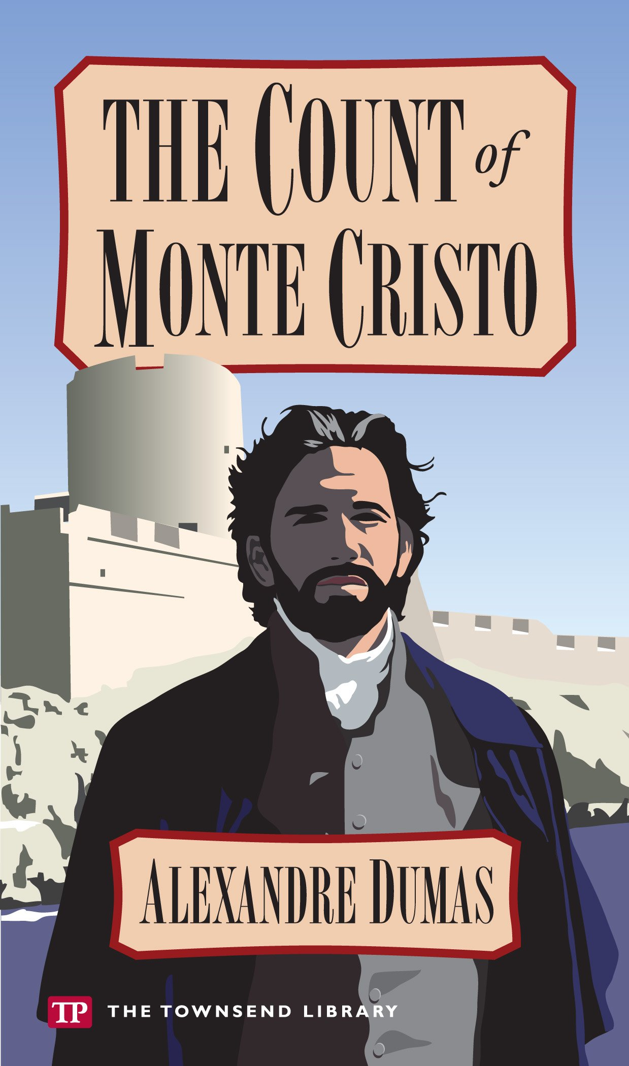 The Count Of Monte Cristo (townsend Library Edition): Alexandre Dumas:  9781591942160: Amazon: Books