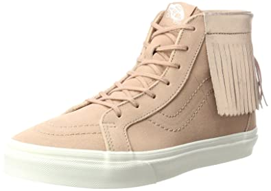56cdc5ab1e Vans Girl s SK8-Hi Skateboarding Shoes (4.5 M US Big Kid
