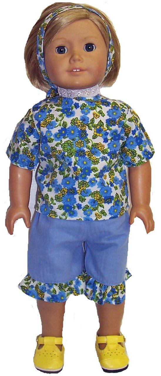 ブルーShorts ブルーShorts andシャツFits B00ZN49X6K 18インチ人形andベビー人形 B00ZN49X6K, 物産展グルメ:90d109e2 --- arvoreazul.com.br