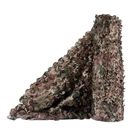 LOOGU Camo Netting, Camouflage Net Blinds Great for Sunshade Camping  Shooting Hunting etc