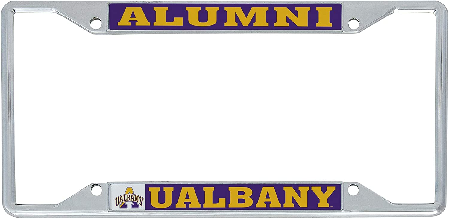 Desert Cactus University at Albany UALBANY Great Danes SUNY NCAA Metal License Plate Frame for Front Back of Car Officially Licensed Alumni