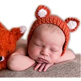 89ee5160780 Luxury Cute Newborn Boy Girl Baby Costume Outfits Photography Props Little Fox  Hat
