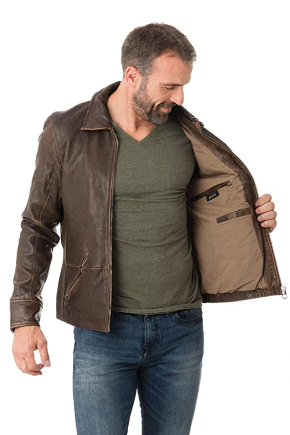 Blouson Lantv Orson Gipsy Vêtements Vintage Et Brown Accessoires Sf fw7ddpxq1