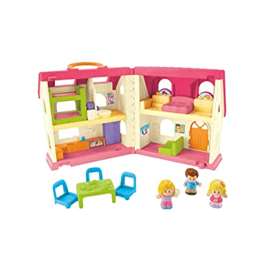 Fisher-Price Little People Surprise & Sounds Home: Toys & Games