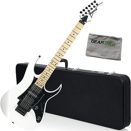Ibanez RG550 - Guitarra eléctrica con funda rígida, color blanco ...