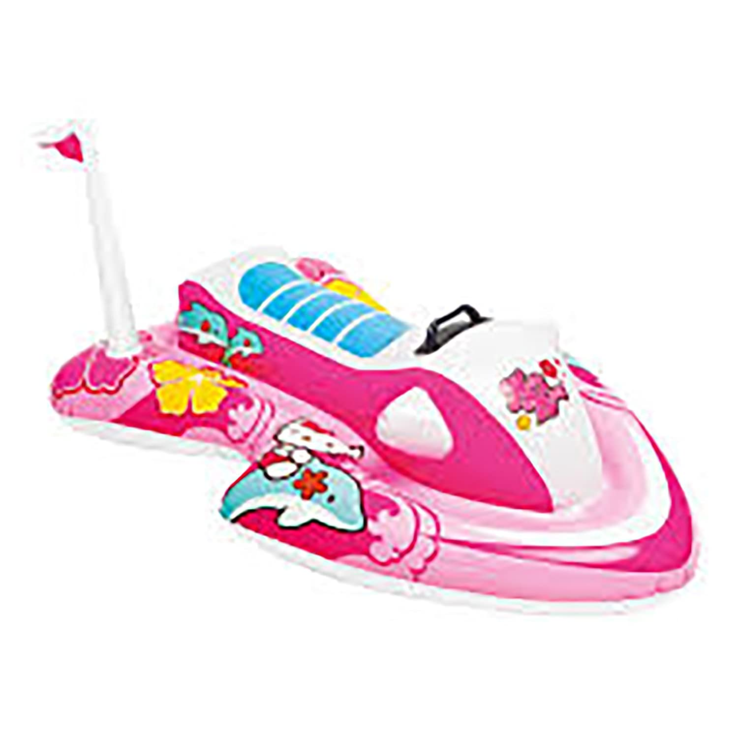Moto de Agua Hinchable Hello Kitty