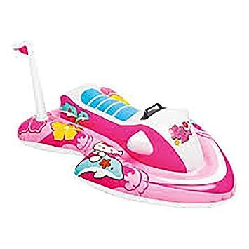 Moto de Agua Hinchable Hello Kitty: Amazon.es: Juguetes y juegos