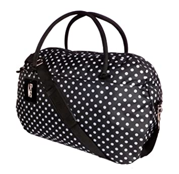 Womens Weekend Bag Ladies Large Overnight Maternity Holdall Travel ...