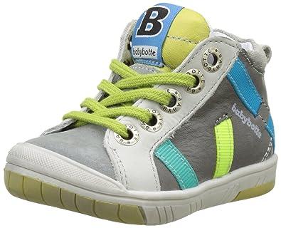Babybotte Artistreet, Baskets Hautes Garçons, Bleu (Marine), 23 EU