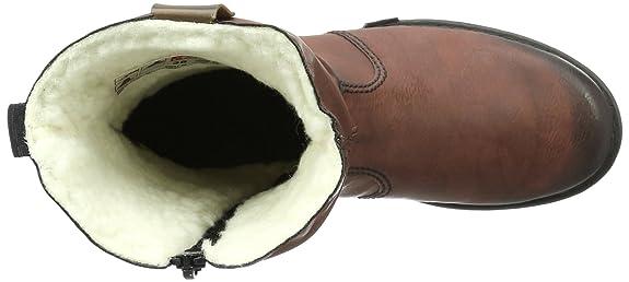 Rieker Damen Z9951 Kurzschaft Stiefel