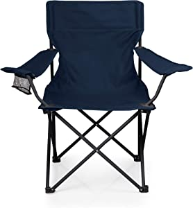 ONIVA - a Picnic Time Brand PTZ Portable Folding Camp Chair, Navy