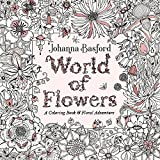 capa de World of Flowers: A Coloring Book and Floral Adventure