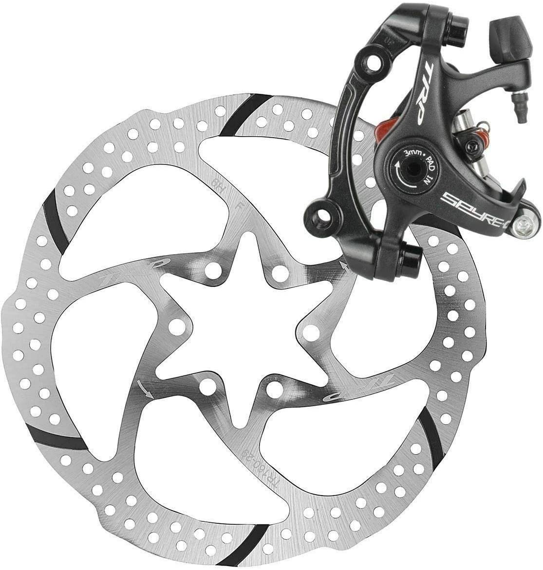TRP SPYRE Road Bike Mechancial Disc Brake Caliper Post Mount 160 Rotor F or R