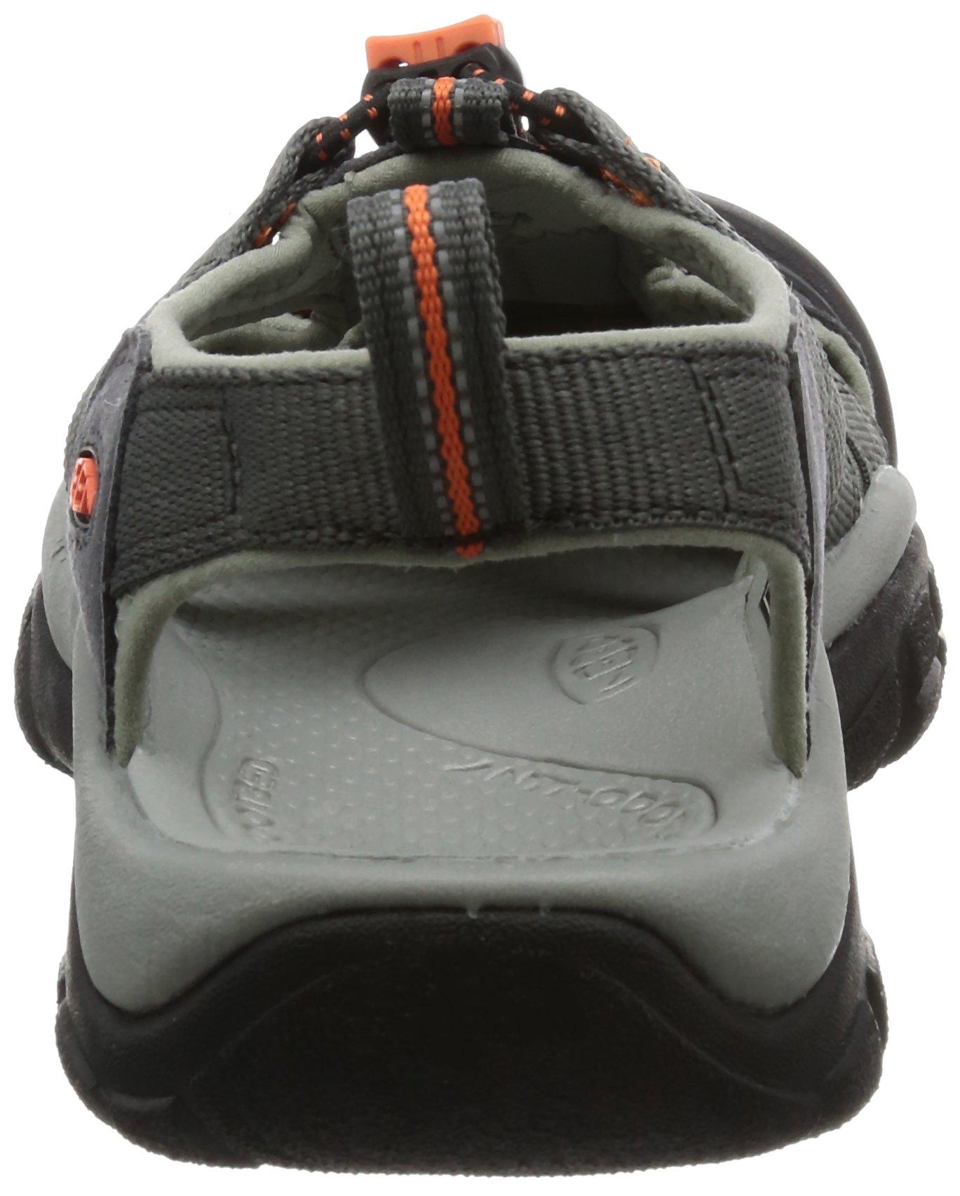 KEEN Men's Newport H2 Hiking Shoe, Magnet/Nasturtium, 15 M US by Keen (Image #2)
