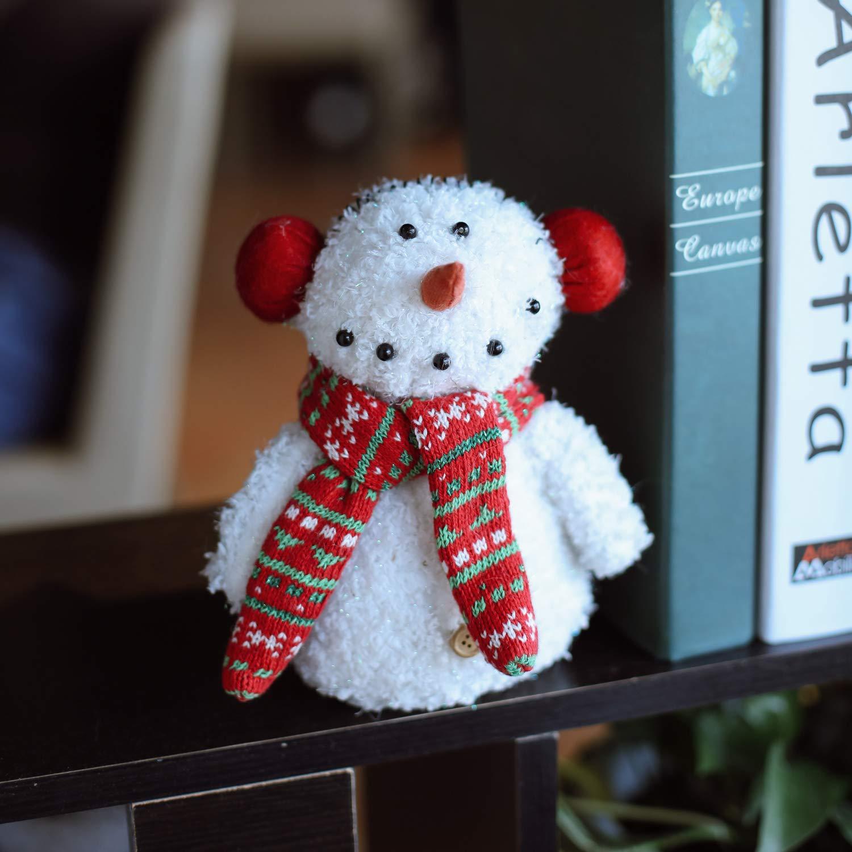 Small LARLIFE Handmade Christmas Snowman Gnome Decoration Santa Swedish Figurines