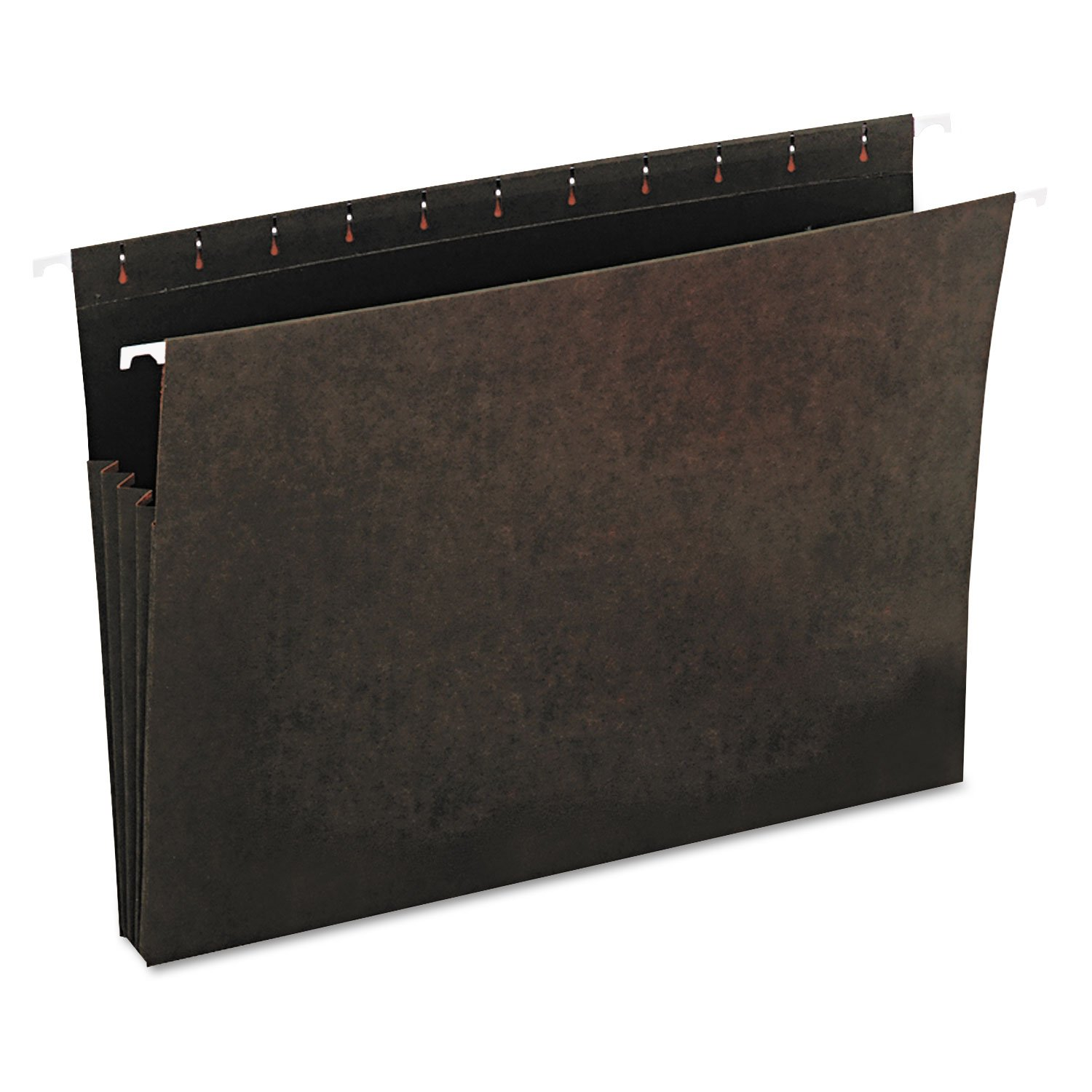Universal 14160 Hanging Box Bottom File Pockets, 11 Point Stock, Letter, Standard Green, 10/Box by Universal