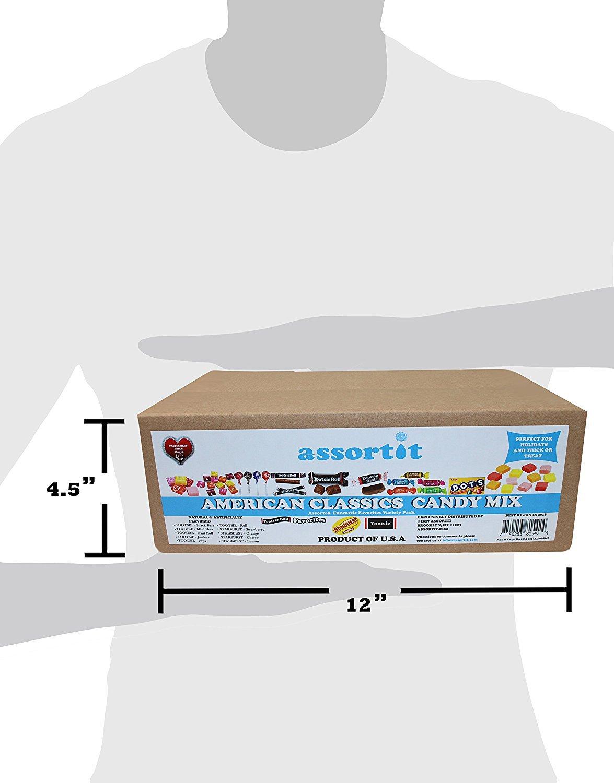 Bulk Starburst & Tootsie Favorites 9.5 Lb Candy Variety Value Bundle Care Package 400+ Pcs (152 Oz) by Assortit (Image #2)