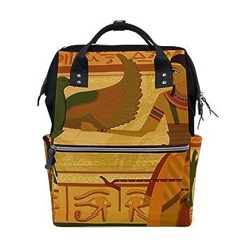 JSTEL - Bolsas de Viaje para Ordenador Portátil o Universitario, Estilo Antiguo, Estilo Egipcio y jeroglyph: Amazon.es: Electrónica