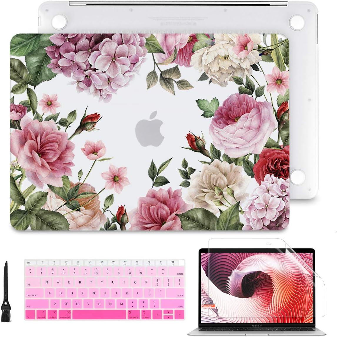 Funda Y Protector De Teclado Macbook Pro 13 A2179 A1932