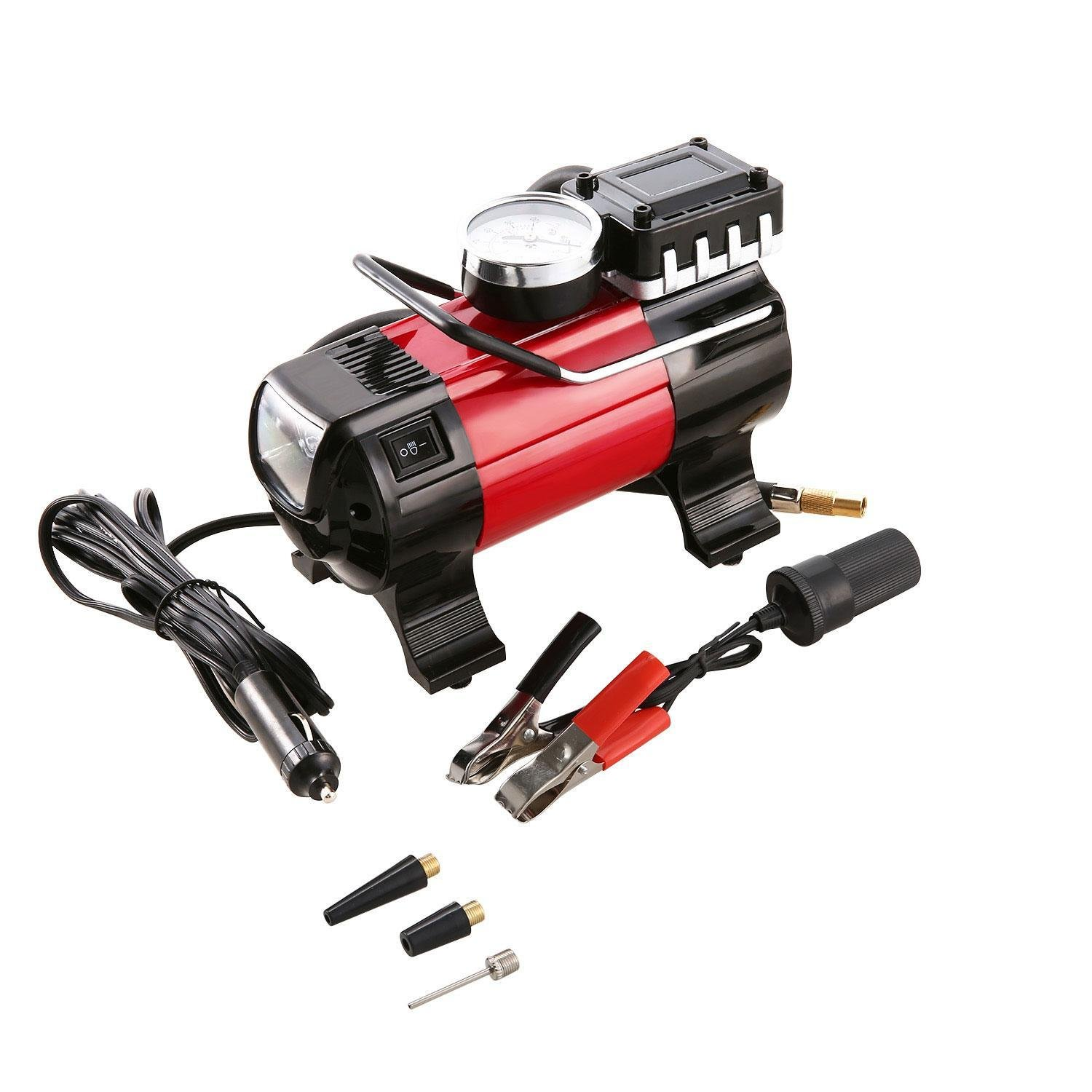 150 PSI 12V 168W Air Compressor Pump, Portable Electric Tire Inflator for Car/Motorcycle/ Bicycle (US Stock)