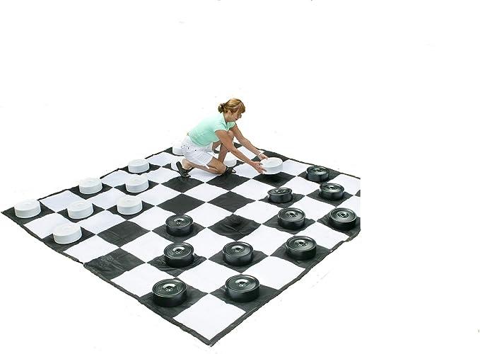 MASGAMES Damas Gigantes Solo Piezas (no Incluye Tablero): Amazon.es: Juguetes y juegos