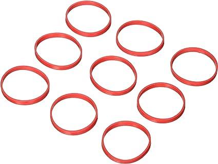 9 pieces RockShox Bottomless Ring Kit Monarch//Vivid Air w// volume adjust rings