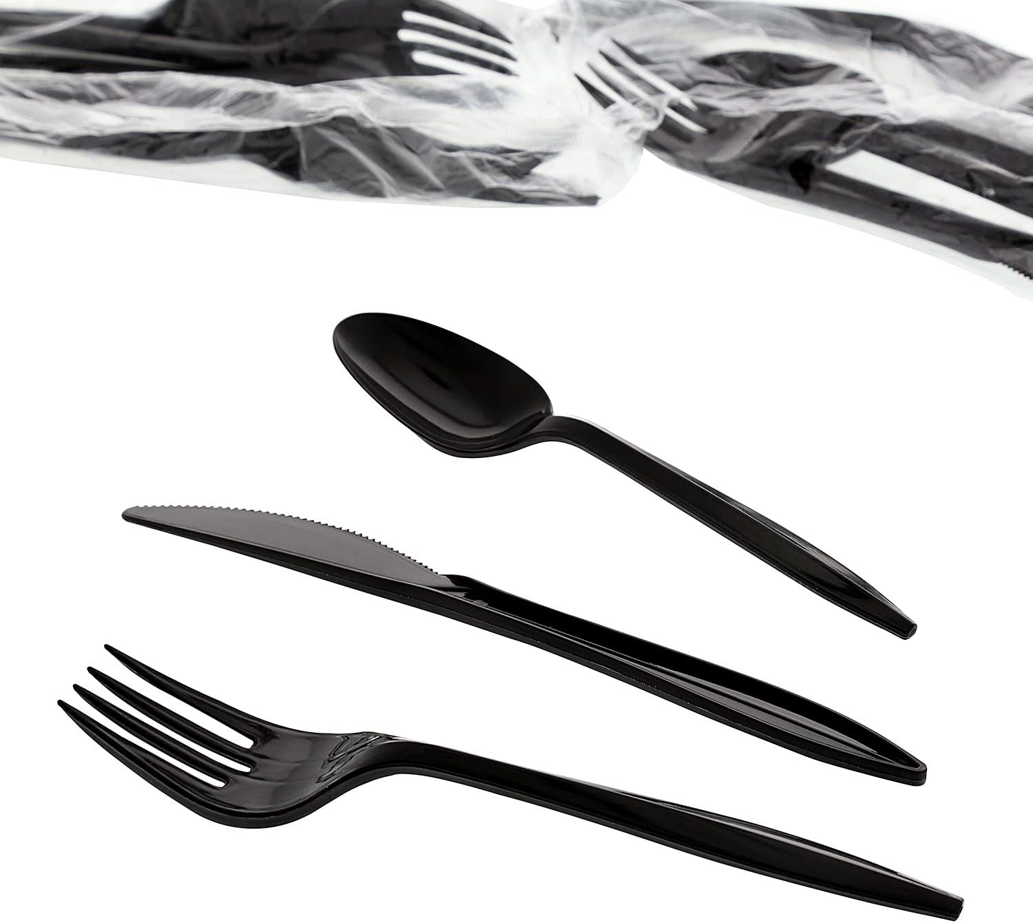 Salt And Pepper Packets Case Of 250 Black Heavy Weight Fork Knife Amercare Six Piece Meal Kit With 13 X 17 Napkin And Teaspoon Health Household Kolenik Forks