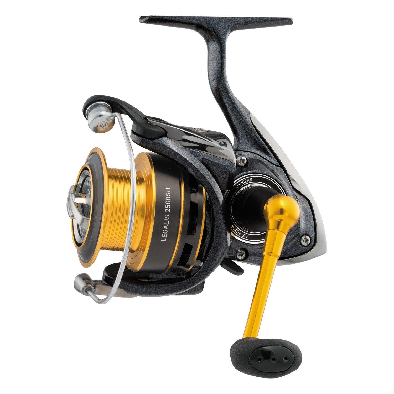 Daiwa Legalis 3500 Spinning Reel, Gold