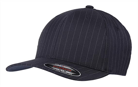 Flexfit by Yupoong Mens Pinstripe Lightweight Mid-Profile Cap