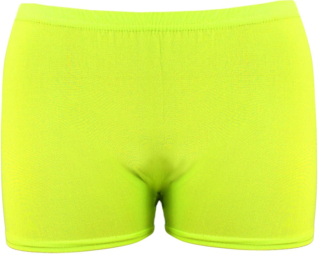 DON Last Man Stands Girls//Ladies Lycra Shinny Hot Pant Shorts for Dance//Gymnastic//Sport **New