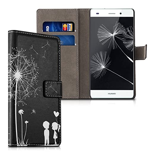 78 opinioni per kwmobile Custodia portafoglio per Huawei P8 Lite (2015)- Cover a libro in simil