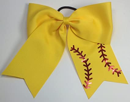 Amazon.com   Softball Hair Bows   Everything Else 1a3185910ea