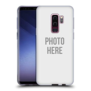 sports shoes 529aa 1e6ab Head Case Designs Custom Customised Personalised Custom Photo Soft Gel Case  for Samsung Galaxy S9+/S9 Plus