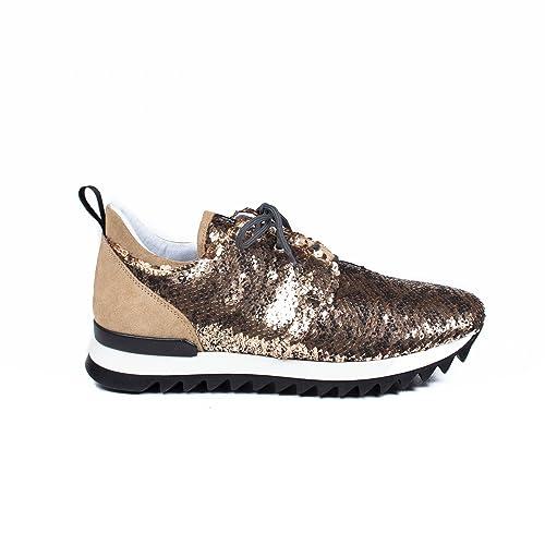 best service 65e1a 462d1 Sneakers PATRIZIA PEPE Donna 2V6281 A635&Y299 Oro ...