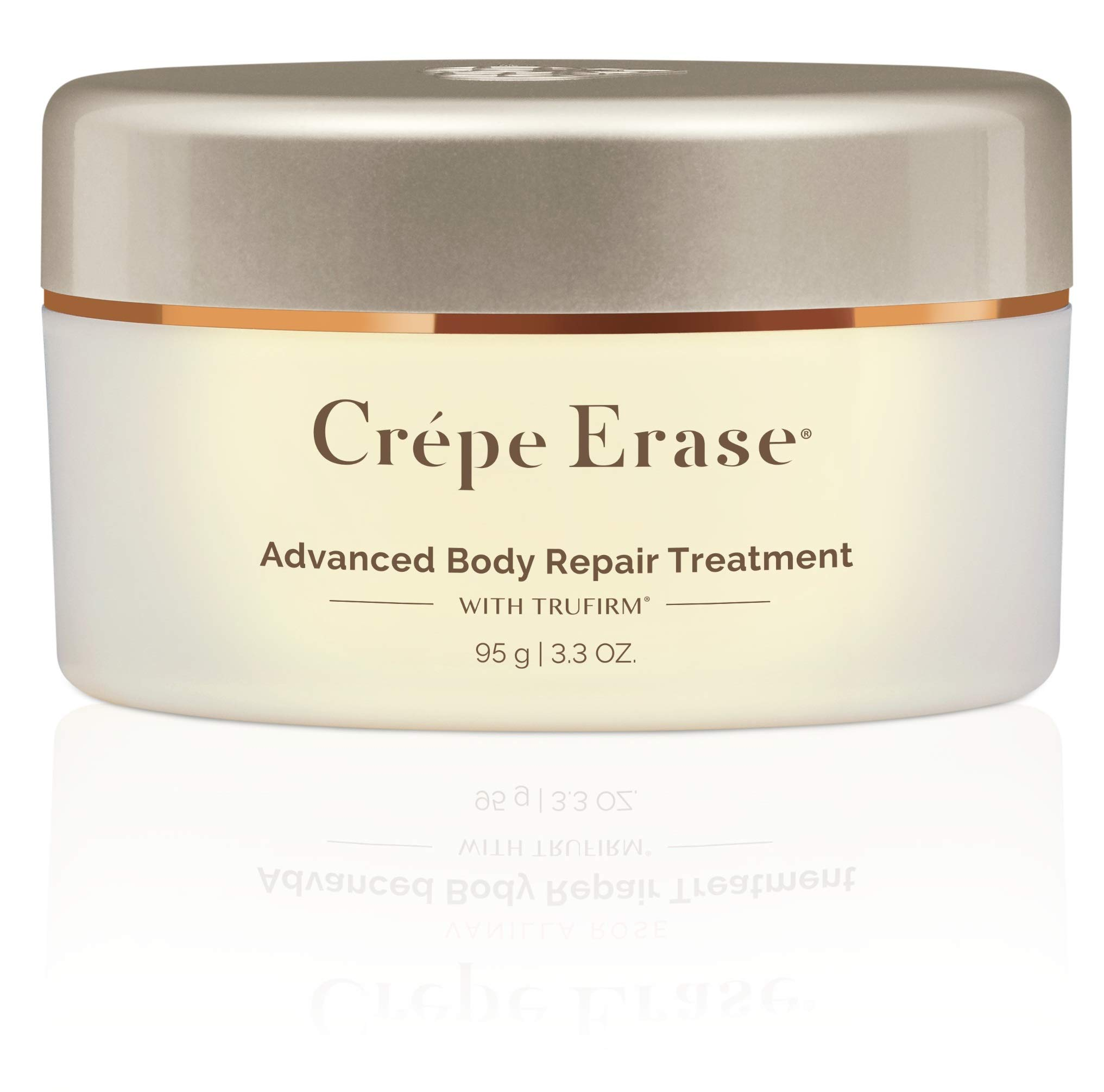 Crépe Erase Advanced - Advanced Body Repair Treatment with Trufirm Complex & 9 Super Hydrators - Original Citrus Scent - Introductory Size/3.3 Ounces