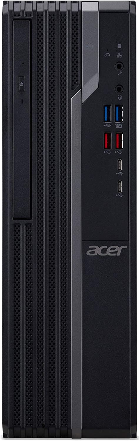 Acer Veriton VX4660G-I3810H3 Desktop, 8th Gen Intel Core i3-8100, 4GB DDR4, 500GB HDD, 8X DVD, Windows 10 Professional