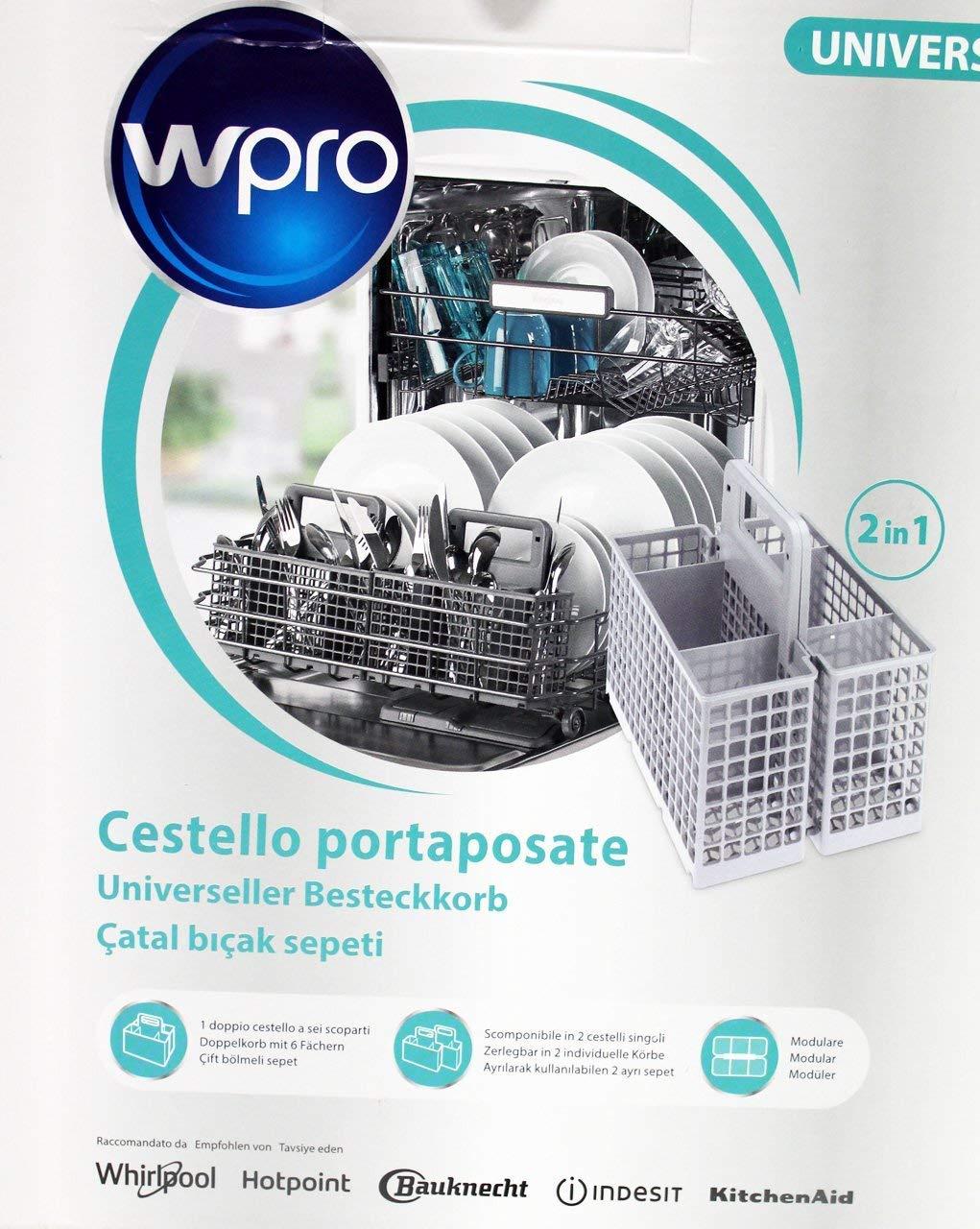 Panier A Couverts Universel Référence : 484000008561 Pour Lave Vaisselle W-pro