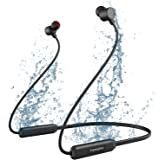 Wireless Headphones, Yamipho Bluetooth 5.0 IPX7 Waterproof 10 Hours Play Time Bluetooth Headphones, Wireless Neckband…