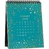 2018 Foil Easel Calendar