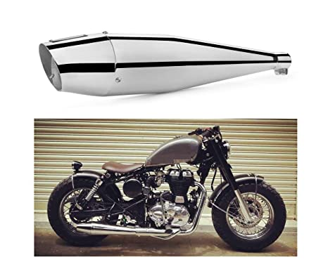 A2d Dlp Bullet Heavy Thump Free Flow Silencer Exhaust With Acoustic