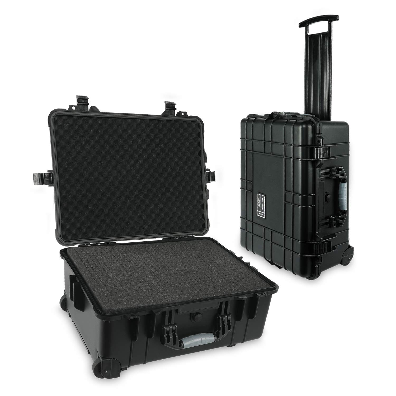 Black Nanuk 950 Waterproof Hard Case with Wheels Empty