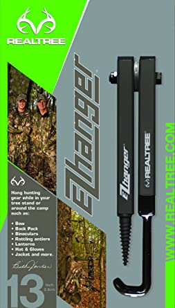 2-Pack 7 Charcoal Realtree Outfitters Hanger