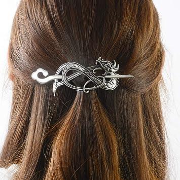 Vintage Viking Hair Clips Celtic Hair Stick Metal Hairpin Hair Accessories