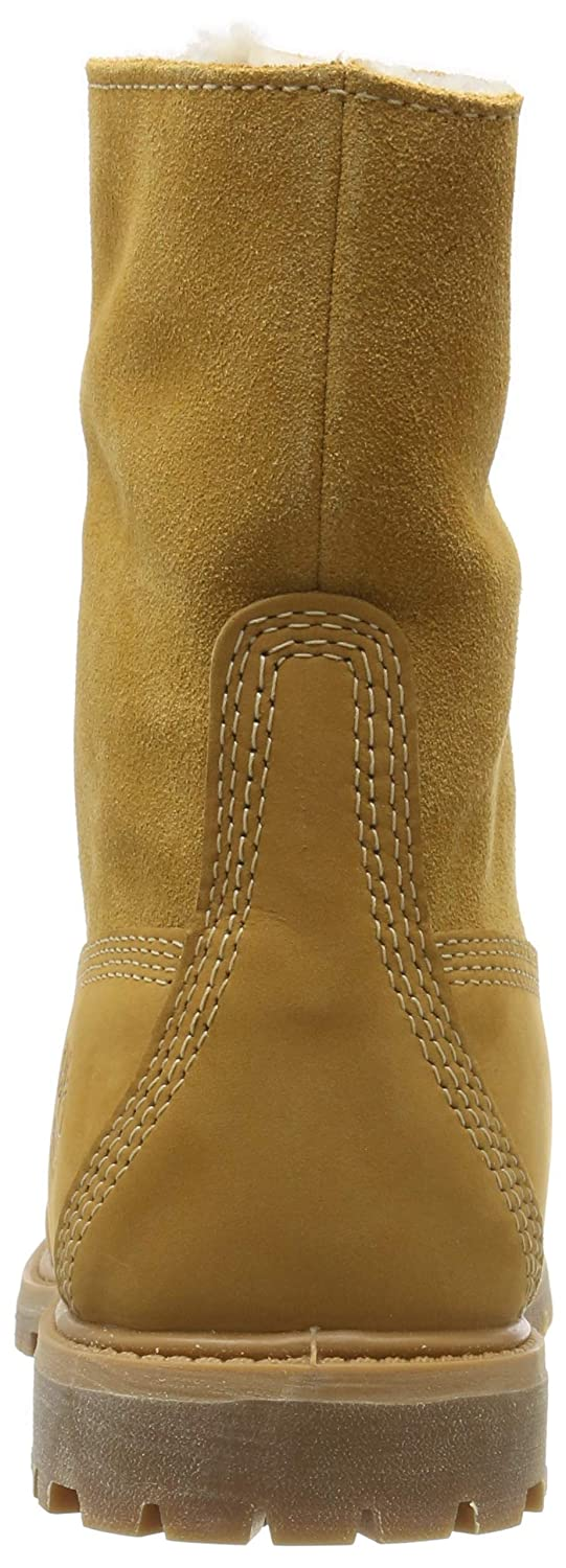 090f9b9e6 Amazon.com | Timberland Women's Teddy Fleece Fold-Down Waterproof Boot |  Shoes